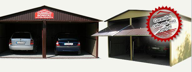 Bomstal: mobilgarázs, könnyűszerkezetes garázs, autó garázs